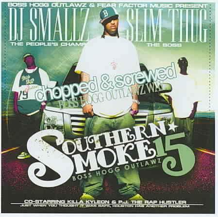 Boss Hogg Outlawz - ...southern Smoke #15 - CD