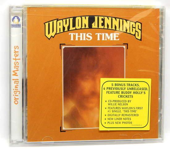 Waylon Jennings - 1974 This Time - CD