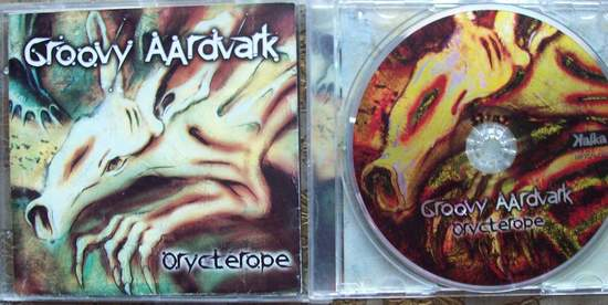 Groovy Aardvark - Orycterope - CD