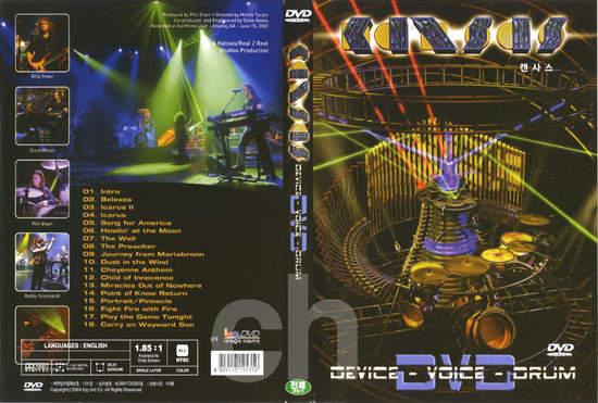 Kansas - Device - Voice - Drum - DVD