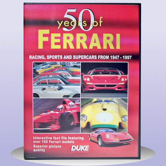 Ferrari - 50 Years Of Ferrari 1947 To 1997 - DVD