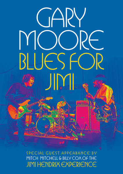 Jim Hendrix - Blues For Jimi By Gary Moore - DVD