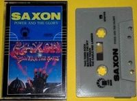 Saxon - Power And The Glory - Cassette