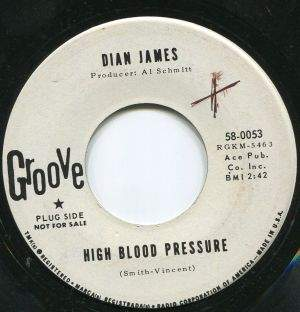 Dian James - High Blood Pressure/welcome Stranger - 45