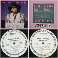David Allan Coedavid Allan Coe - Greatest Hits - LP