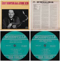 Lucky Thompson - Lucky Thompson Plays Jerome Kern And No More - LP