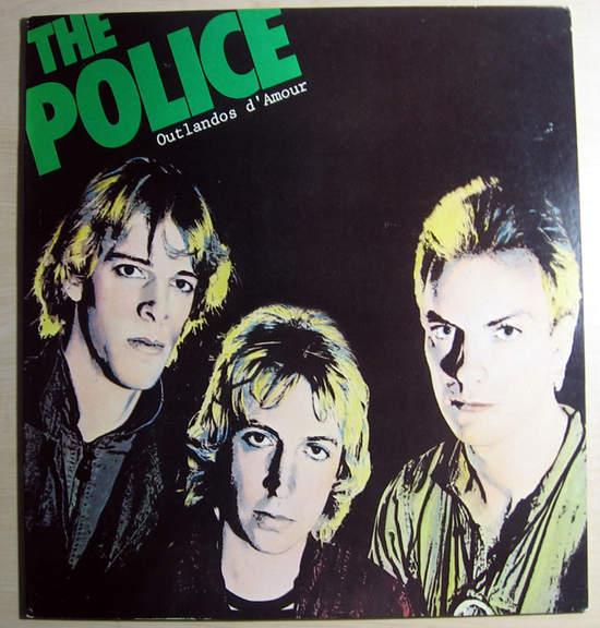 Police - Outlandos D'amour - LP