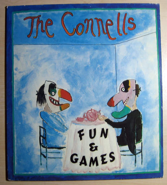 Connells - Fun & Games - Promo Stamped - LP