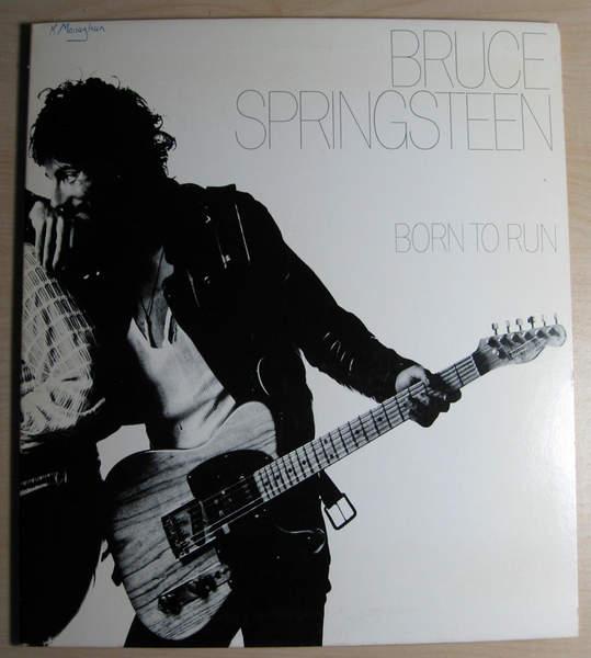 Bruce Springsteen - Born To Run - 1977 Reissue - LP
