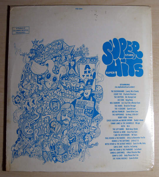 Various Artists - Super Stars - Super Hits, Vols. 1 And 2  - Sealed - 2LP