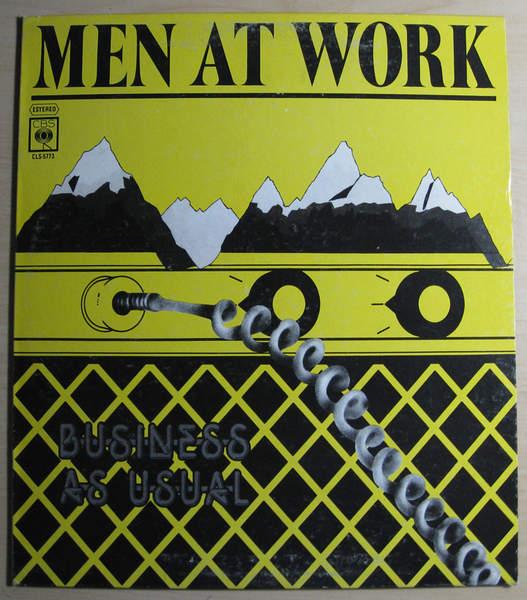 Men At Work - Men At Work - Mexico Pressing - LP