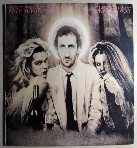 Pete Townshend - Empty Glass - Israeli Pressing - LP