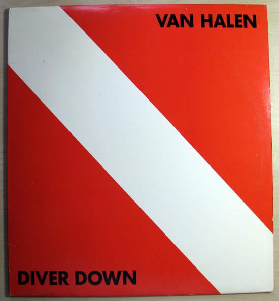 Van Halen - Diver Down - Original Pressing - LP