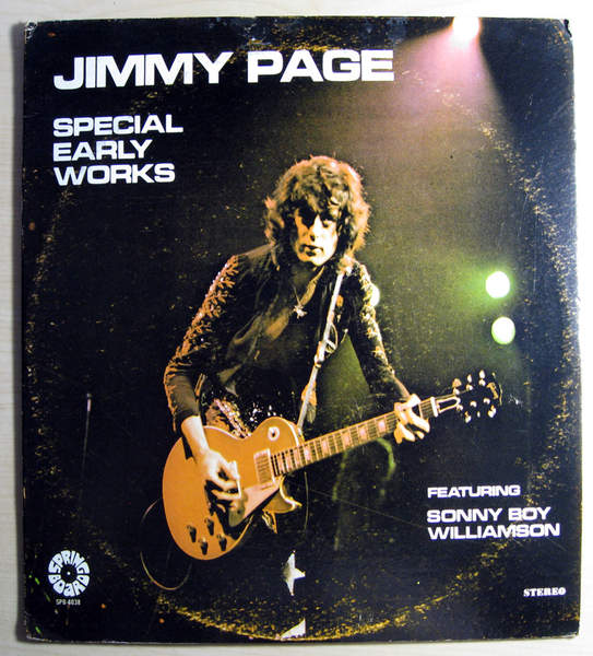 Jimmy Page - Special Early Works Featuring Sonny Boy Williamson - LP