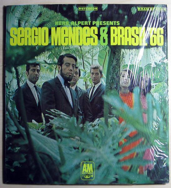 Herb Alpert Presents Sergio Mendes & Brasil '6 - Herb Alpert Presents Sergio Mendes & Brasil '66 - Pitman Pressing - LP