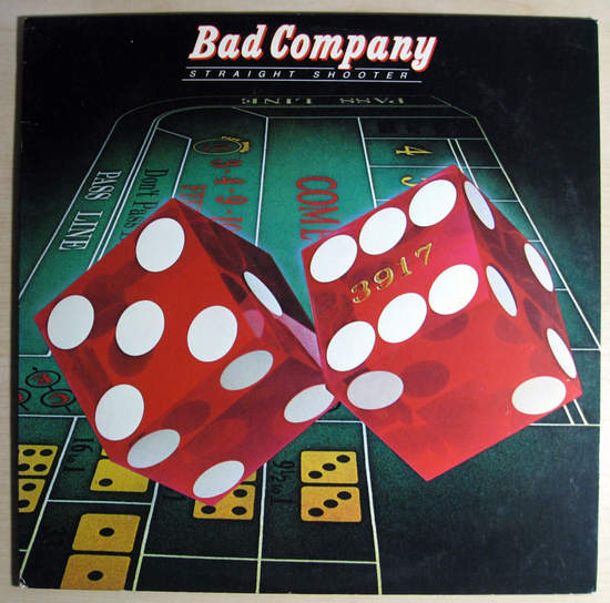 Bad Company - Straight Shooter - 1975 Reissue - LP