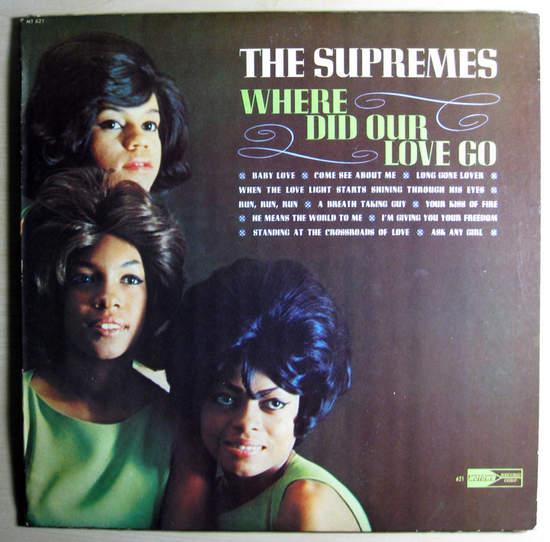 Supremes - Where Did Our Love Go - Mono Original