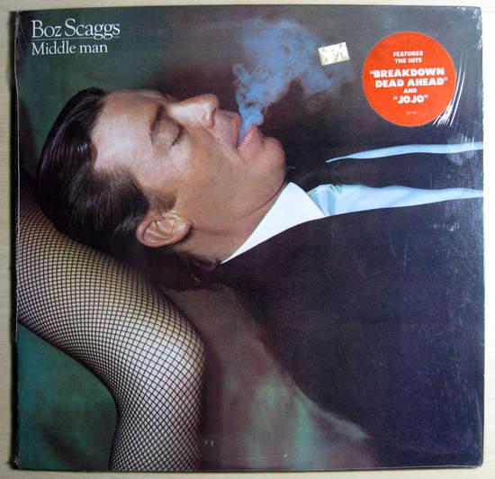 Boz Scaggs - Middle Man - LP