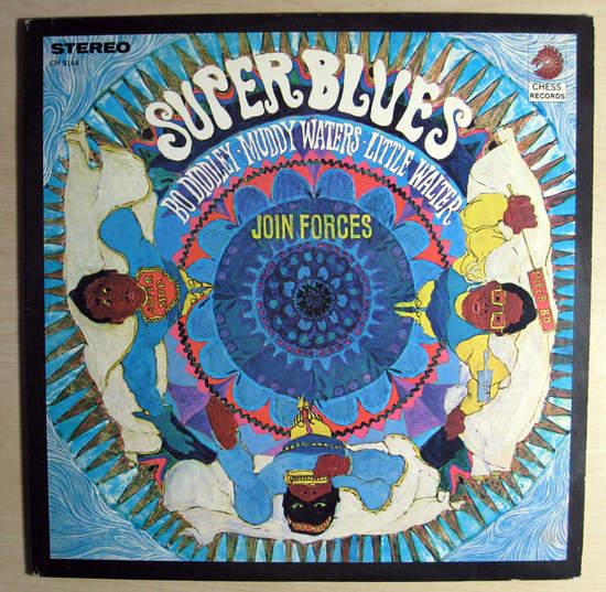 Bo Diddley,little Walter,muddy Waters - Super Blues - LP