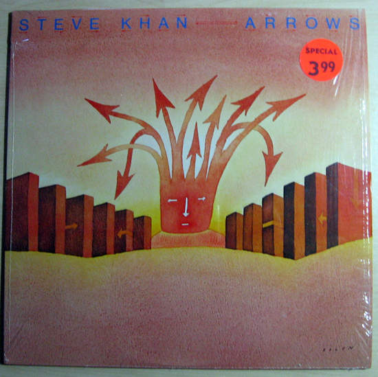 Steve Khan - Arrows - White Label Promo - LP