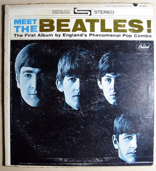 Beatles - Meet The Beatles! - 1966 Repress