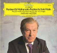J.s. Bach / Nathan Milstein - Partiten Für Violine Solo No.2 D-moll • No.3 E-dur = Partitas For Solo Violin In D Minor • In E Majo - LP