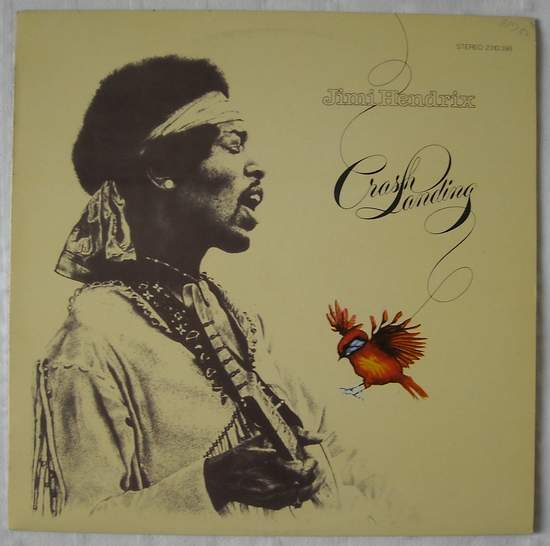 Jimi Hendrix - Crash Landing - LP