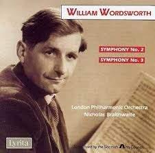 Nicholas Braithwaite - William Wordsworth: Symphonies 2 & 3 - CD