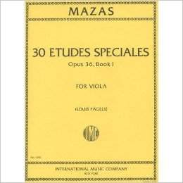 Jacques Fereol Mazas - Etudes Speciales Opus 36, Book 1 - Sheet Music
