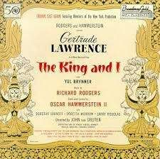 King And I, The - Rodgers & Hammerstein