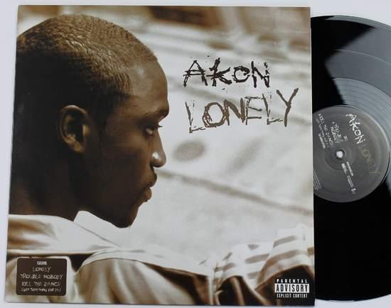 "Akon - Lonely - 12"""