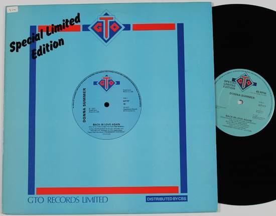 "Donna Summer - Back In Love Again - 12"""