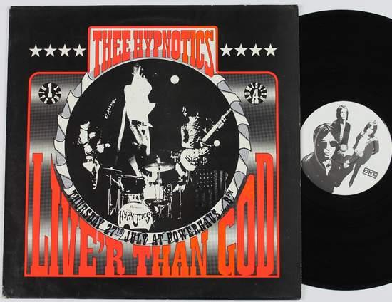 Thee Hypnotics - Live'r Than God - LP