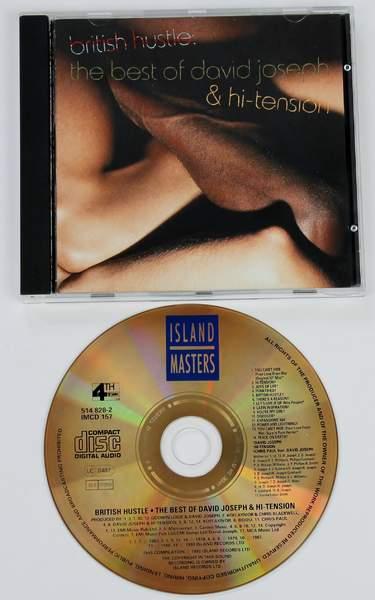 David Joseph & Hi-tension - British Hustle: The Best Of David Joseph & Hi-tension - CD