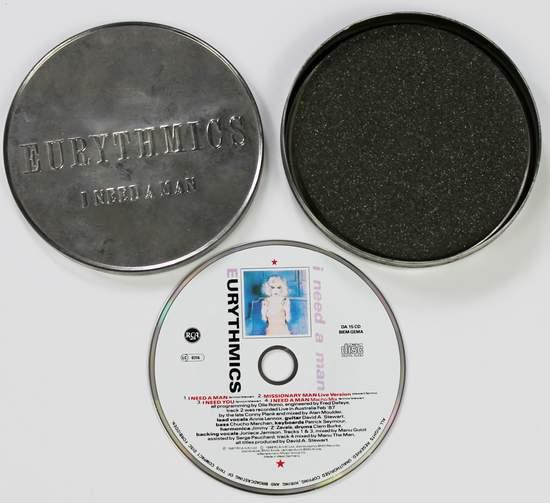Eurythmics - I Need A Man (ltd Tin Case) - CD Single