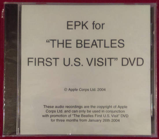 "Beatles - Epk For ""the Beatles First U.s. Visit"" Uk Promo Dvd"