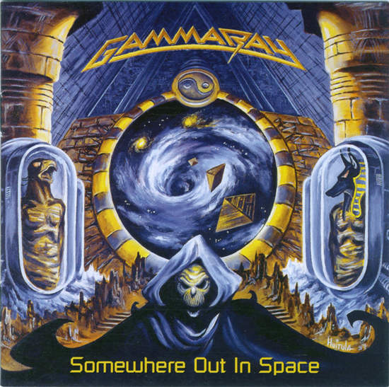Gamma Ray - Somewhere Out In Space - CD