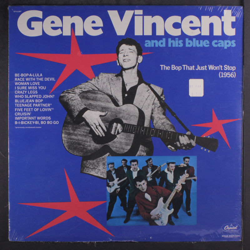 513b0bb5784 Gene Vincent The Bop That Just Won t Stop Records