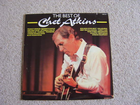 Chet Atkins - The Best Of Chet Atkins - LP