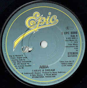Abba - I Have A Dream - 45