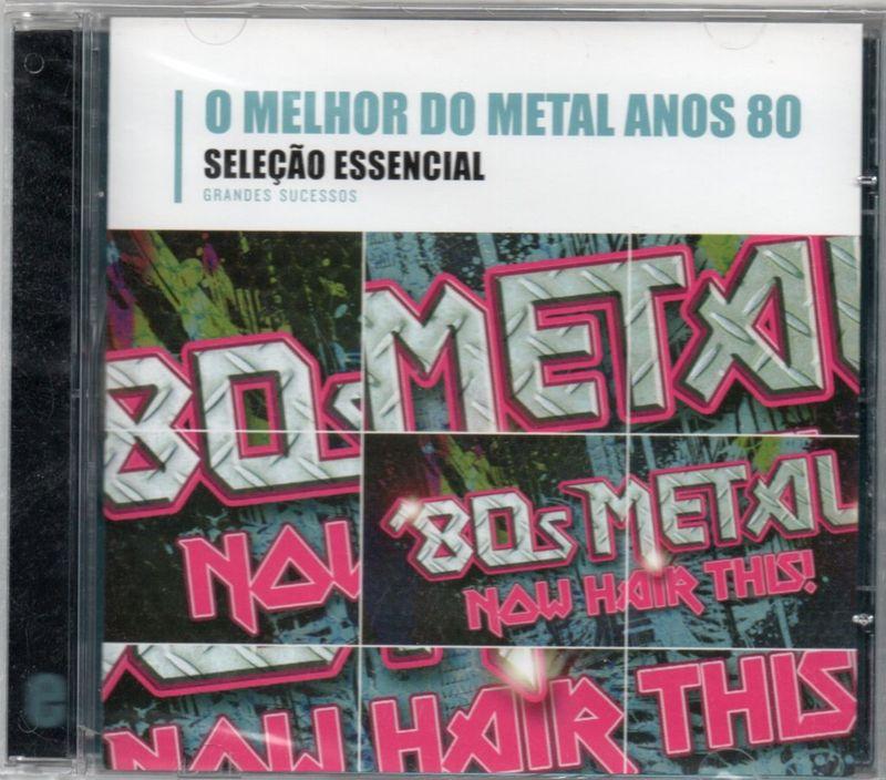 VARIOUS - Seleção Essencial - O Melhor Do Metal Anos 80 - CD