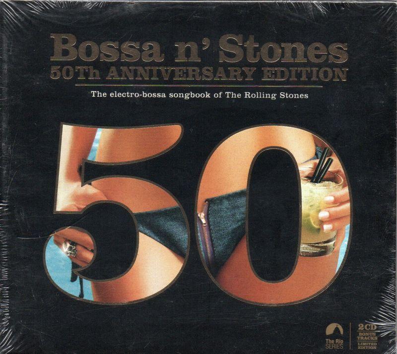 VARIOUS - Bossa N' Stones 50th Anniversary Edition - CD x 2