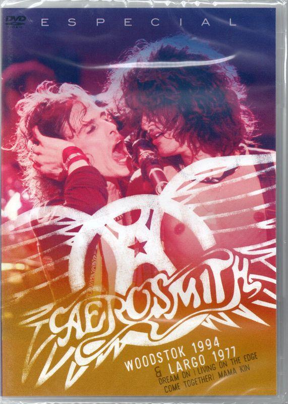 Aerosmith - Especial Aerosmith - Woodstock 1994 & Largo 1977 - DVD