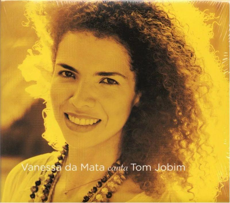 VANESSA DA MATA - Vanessa Da Mata Canta Tom Jobim - CD