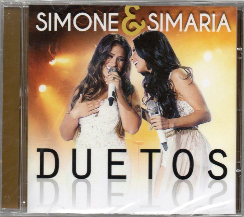SIMONE & SIMARIA - Duetos - CD