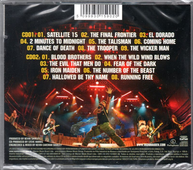 Iron Maiden En Vivo!