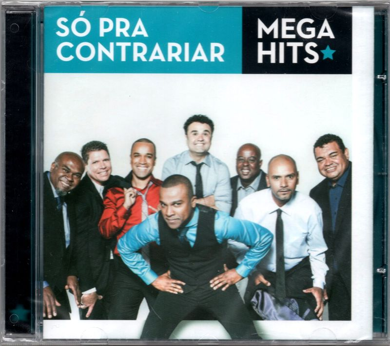SÓ PRA CONTRARIAR - Mega Hits - CD