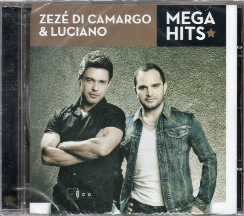 ZEZÉ DI CAMARGO & LUCIANO - Mega Hits - CD