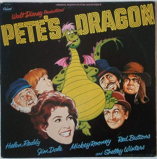 Various - Pete's Dragon - LP