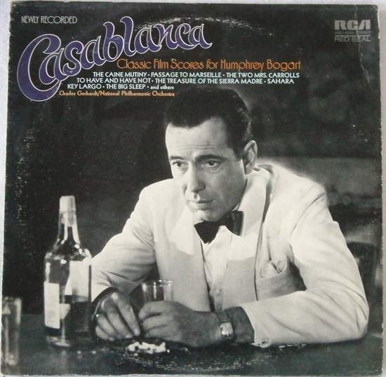 Charles Gerhardt - Casablanca - Classic Film Scores For Humphrey Bogart - LP